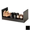 Venture Horizon Black Wood Shoe Storage