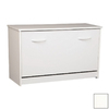 Venture Horizon White Wood Shoe Storage