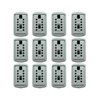 Lockstate 12-Piece Gray Key Dock Steel Wall Mount Lock Box