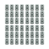 Lockstate 48-Piece Gray Key Dock Steel Wall Mount Lock Box