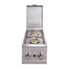 Sunstone 12.5-in Double-Burner Manual Ignition Outdoor Burner