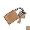 Morris Products 0.75-in W Aluminum Regular Shackle Keyed Padlock