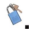 Morris Products Black Aluminum Colors Keyed Alike Padlock