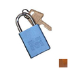Morris Products Brown Aluminum Colors Keyed Alike Padlock