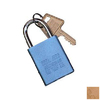 Morris Products Gold Aluminum Colors Keyed Alike Padlock
