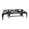 Buffalo Tools DBCIS 5-in Double-Burner Manual Ignition Outdoor Stove