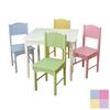 KidKraft Nantucket Pastel Square Kid's Play Table