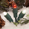 TreeKeeper Red/White Lighted LED Super Mini Light Ornament