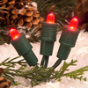 TreeKeeper Red Lighted LED Super Mini Light Ornament