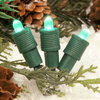 TreeKeeper 50-Count Constant Green LED Plug-In Mini Christmas String Lights