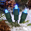 TreeKeeper Blue Lighted LED Super Mini Light Ornament