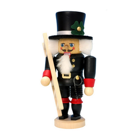 Alexander Taron Wood Chimneysweep Nutcracker Ornament