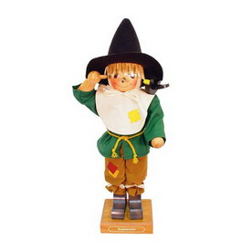 Alexander Taron Wood Scarecrow Nutcracker Ornament