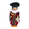 Alexander Taron Wood Medicus Nutcracker Ornament