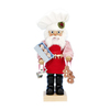 Alexander Taron Wood Gingerbread Santa Nutcracker Ornament