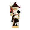 Alexander Taron Wood Shepherd Santa Nutcracker Ornament