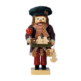 Alexander Taron Wood Gingerbread Vendor Nu Ornament