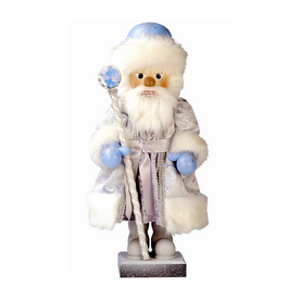 Alexander Taron Wood 4-Seasons Winter Nutcracker Ornament
