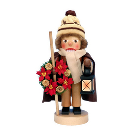 Alexander Taron Wood Lantern Boy Nutcracker Ornament