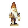 Alexander Taron Wood Dwarf Gardener Natural Nutcracker Ornament