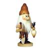 Alexander Taron Wood Dwarf Gardener Natural Nutcracker Ornament