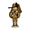 Alexander Taron Wood Musketeer Natural Nutcracker Ornament
