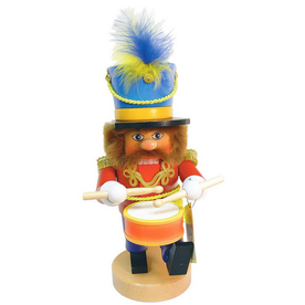Alexander Taron Wood Musical Drummer Boy Nutcracker Ornament