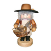 Alexander Taron Wood Woodsman Nutcracker Ornament