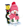 Alexander Taron Snowman with Lantern Ornament