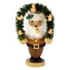 Alexander Taron 1-Piece Christian Ulbricht Tabletop Santa Incense Burner Indoor Christmas Decoration