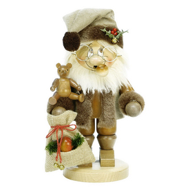 Alexander Taron Wood Gnome Santa Smoker Ornament