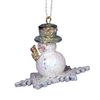 Alexander Taron Snowflake Snowman Ornament