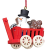 Alexander Taron 6-Pack Wood Assorted Haywagon Ornaments