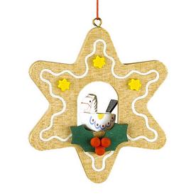 Alexander Taron Wood Toy Star Ornament