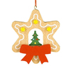 Alexander Taron Wood Star/Christmas Tree Ornament