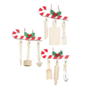 Alexander Taron 3-Pack Assorted Candy Cane Kitchen Utensil Ornaments