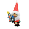 Alexander Taron Wood Santa Claus Ornament