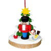 Alexander Taron Wood Toy Nutcracker Ornament