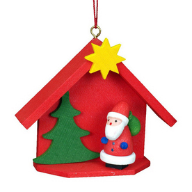 Alexander Taron House with Santa Ornament