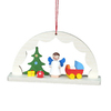 Alexander Taron Wood Arch Way Angel Ornament