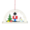 Alexander Taron Wood Arch Way Nutcracker Ornament