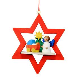 Alexander Taron Angel Star Ornament