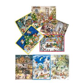 Alexander Taron 12-Piece Assorted Advent Calendar Indoor Christmas Decoration