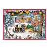 Alexander Taron Metal Christmas Train Advent Calendar Ornament