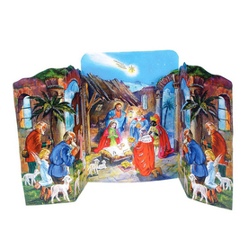 Alexander Taron Tabletop Advent Calendar Indoor Christmas Decoration