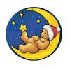Alexander Taron Metal Extra Large Teddy Bear Advent Calendar Ornament