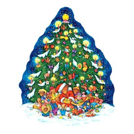 Alexander Taron Advent Calendar Bear Indoor Christmas Decoration