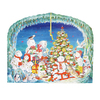 Alexander Taron Metal Large Advent Calendar Ornament