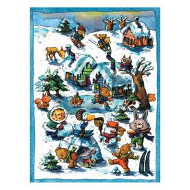 Alexander Taron Metal Animals Advent Calendar Ornament