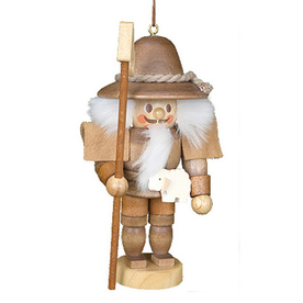 Alexander Taron Wood Shepherd Nutcracker Ornament